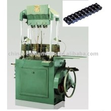 la cadena de montaje de la máquina