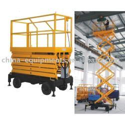 el taller de elevación de plataforma