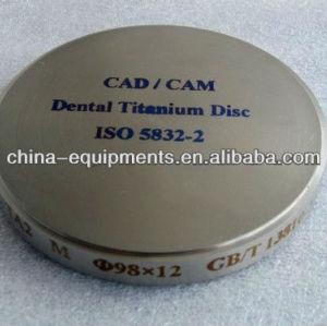 dental de titanio disco de fresado