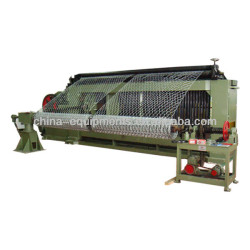 hexagonal de malla de alambre máquina de tejer