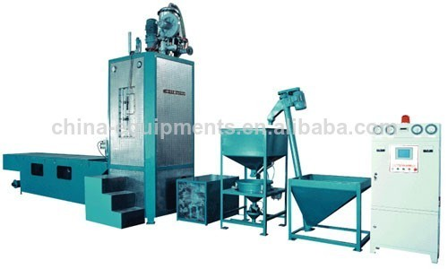 bloc eps machine de moulage