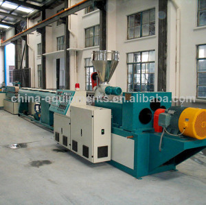 pvc pipe line production
