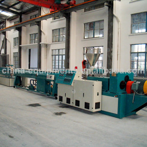 plastic pipe line production