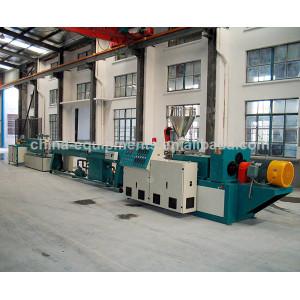 plastic pipe line production