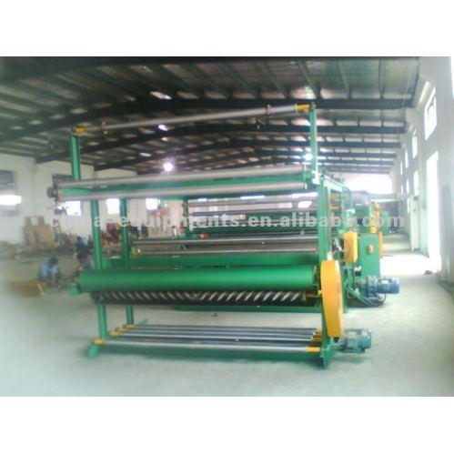 tecido de poliéster revestimento em pvc máquina, linha de  ~ Revestimento Em Pvc Para Quarto