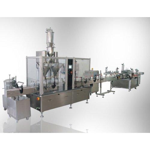 Machine de remplissage de poudre de poivre de BOUTEILLE d'ANIMAL FAMILIER