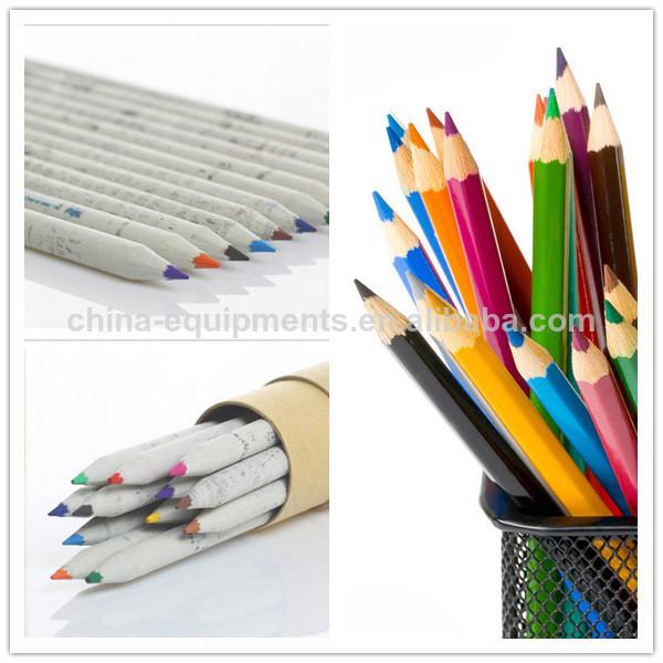 lápiz de papel de la máquina