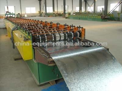 las hojas de acero corrugado de la máquina