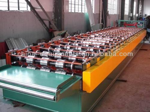 de aluminio para techos hoja de ondulación de la máquina