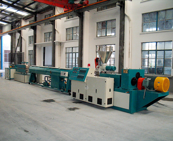PVC pipe extrusion line3