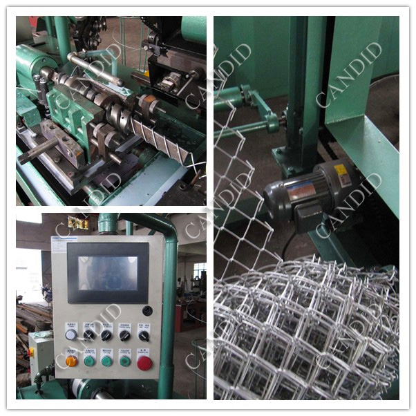 Chain Link Fence Netting Machine3