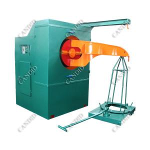 tréfilage machine de décharge