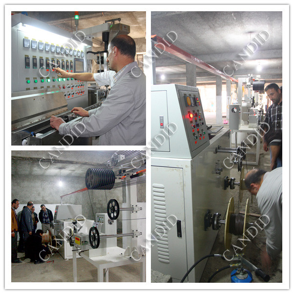 easy operation electric cable production line