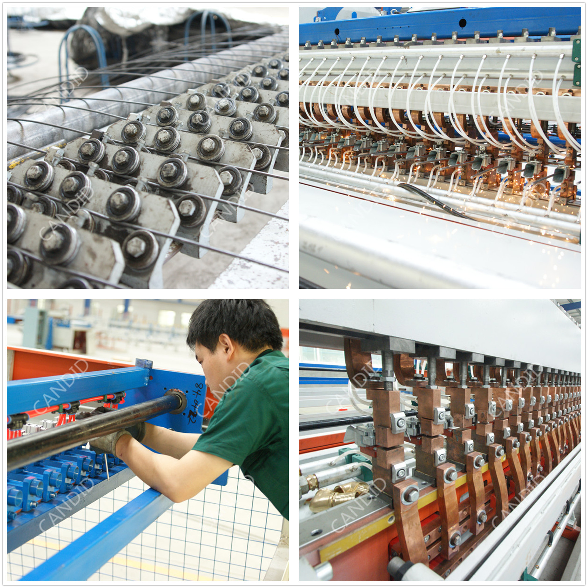 automatic reinforcing welded mesh machine
