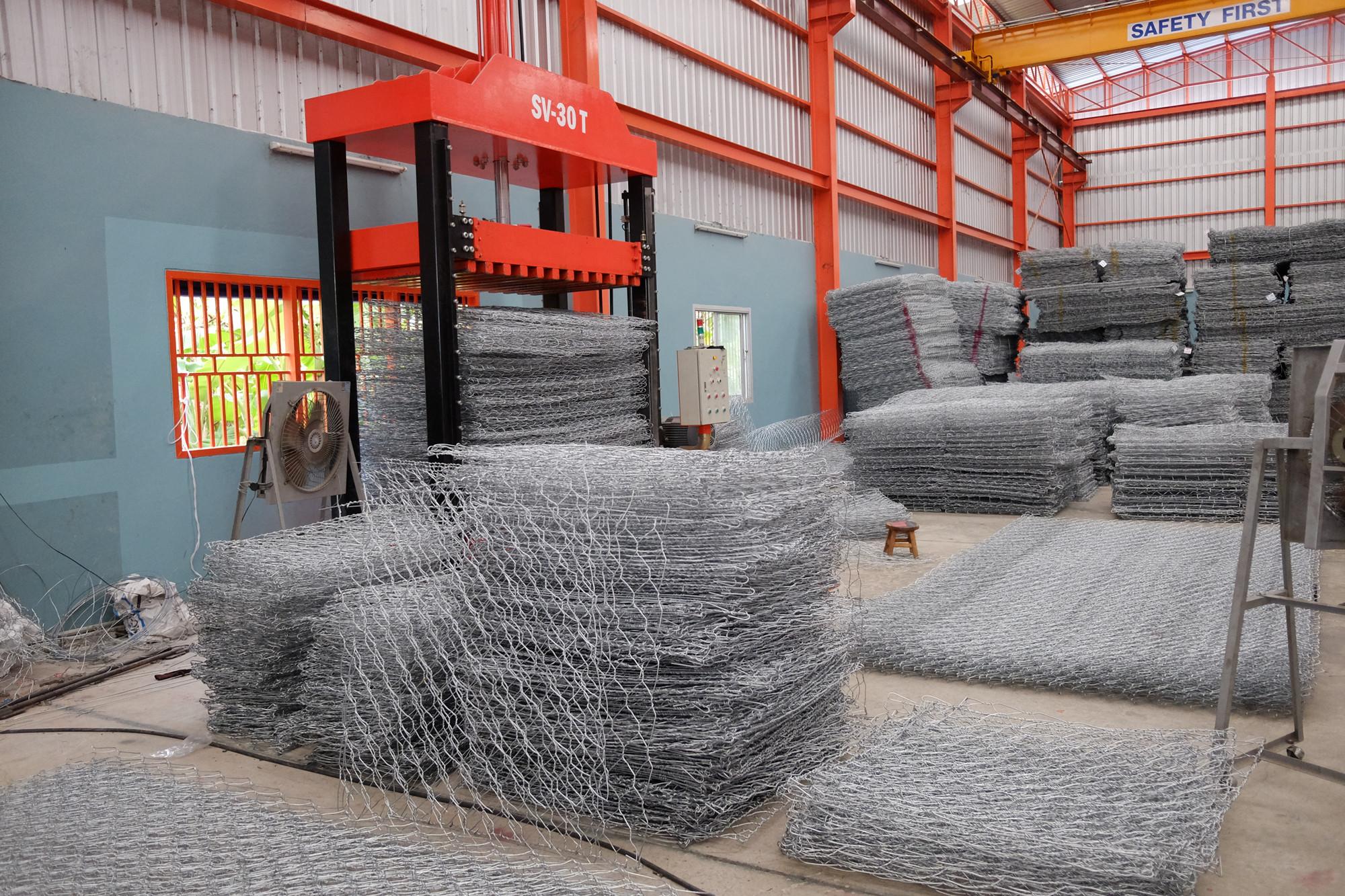 Automatic Gabion Netting Hydraulic Packing Machines
