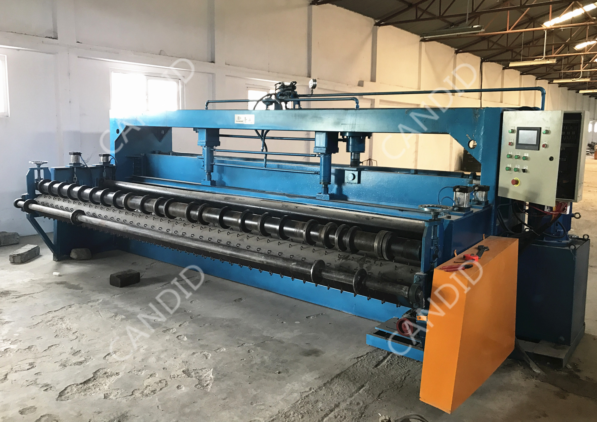 Netting Sheet Straightening Machine