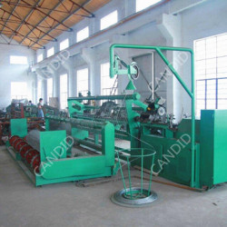 Candid Automatic high speed Chain Link Fence Netting Machine