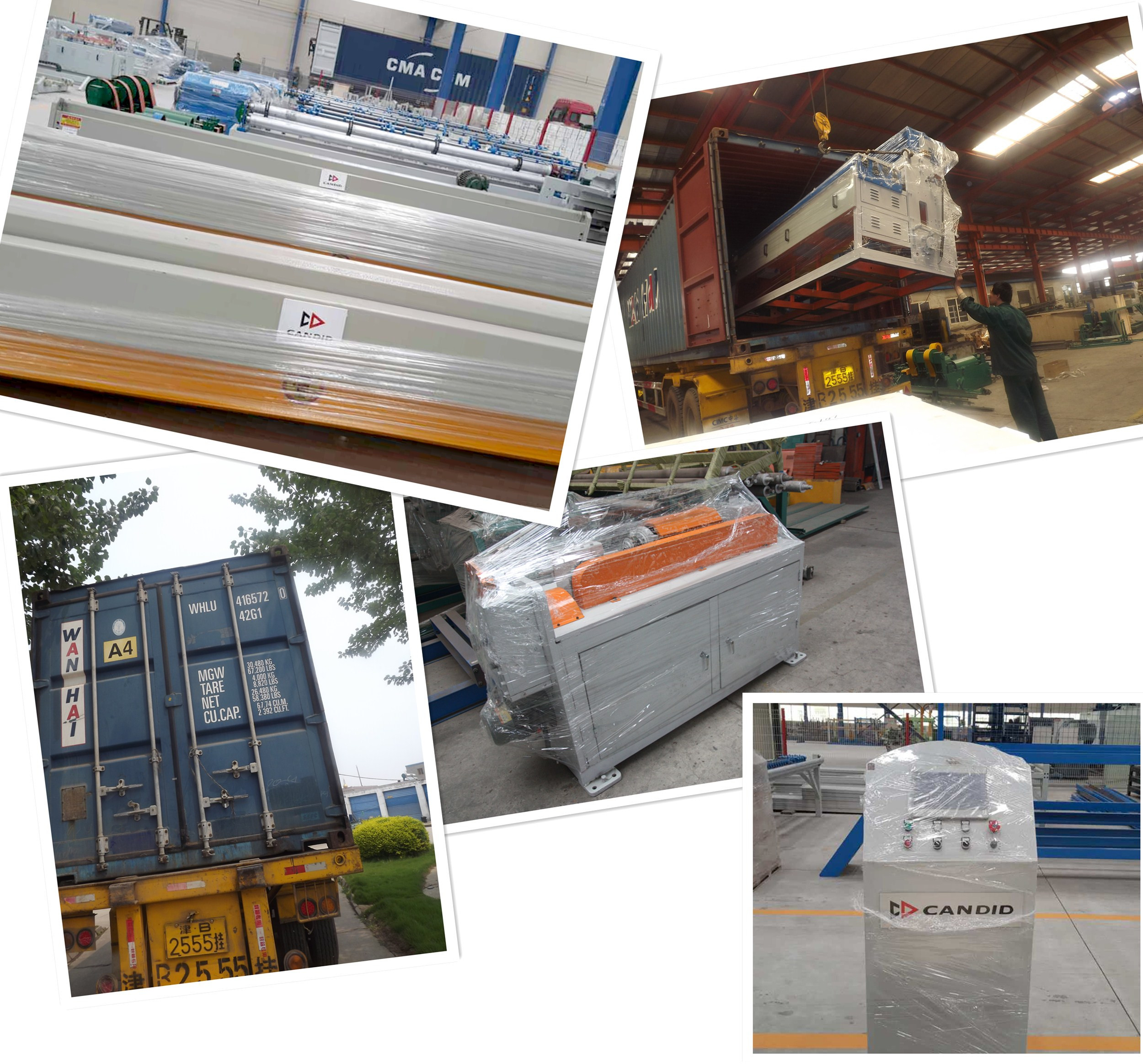 wire mesh welding machine packing