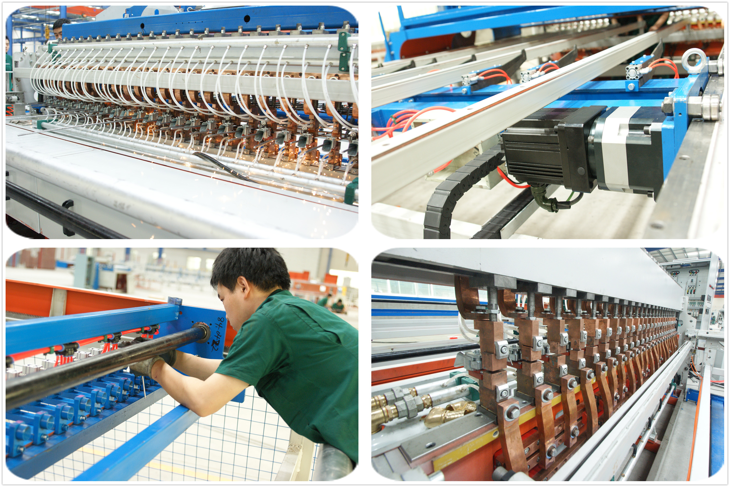 wire mesh wilding machine