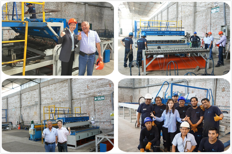 Brick Fence Mesh Machine export to peru