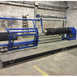 Candid Automatic Wire Mesh Rolling Machine