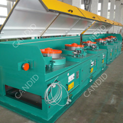 Candid Automatic Straight Line Wire Drawing Machine