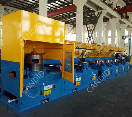 Automatic Straight Line Wire Drawing Machine