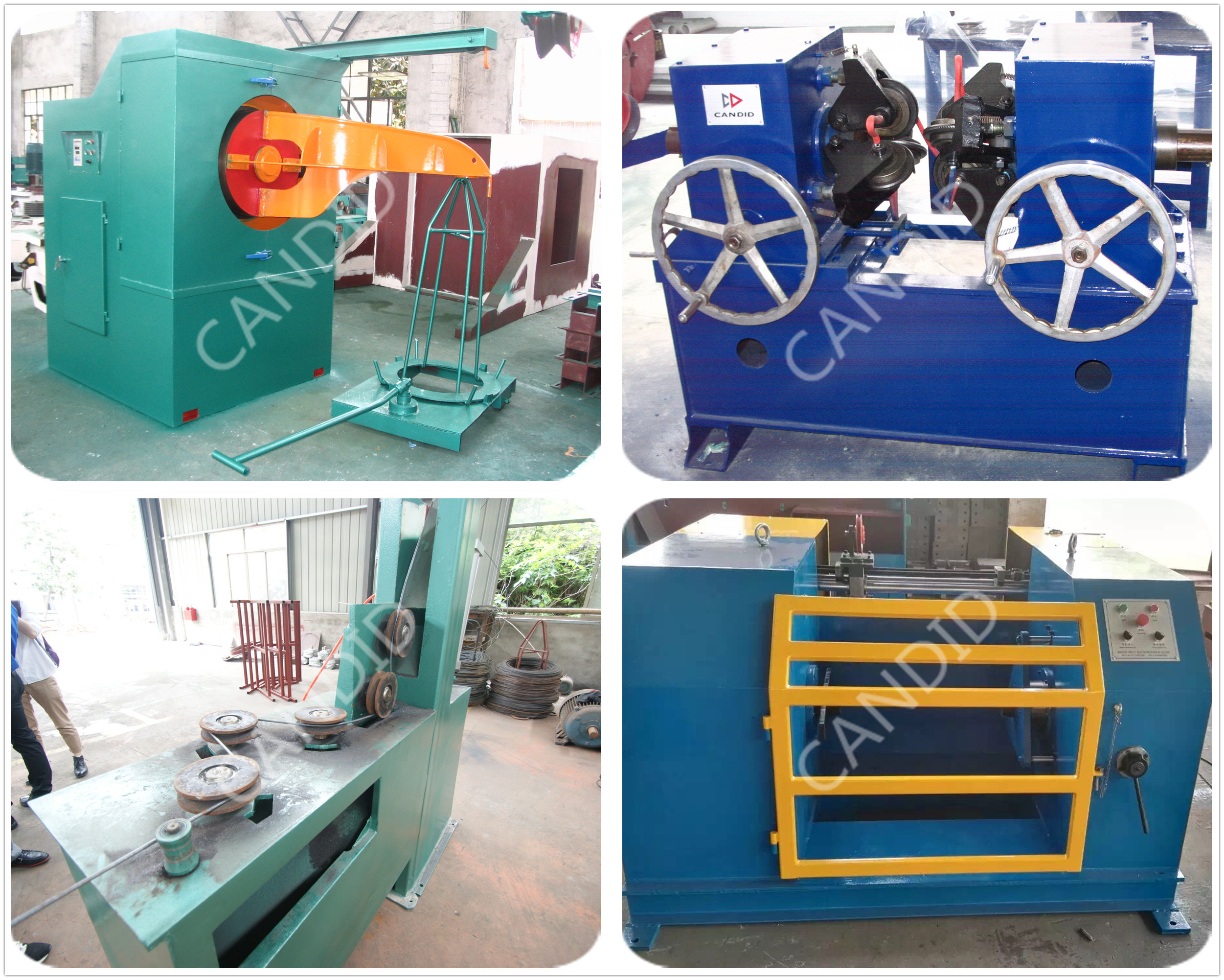 Wheel Type wire drawing machine