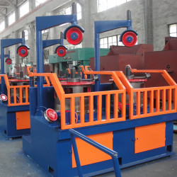 Automatic Wheel Type iron  Wire Drawing Machine