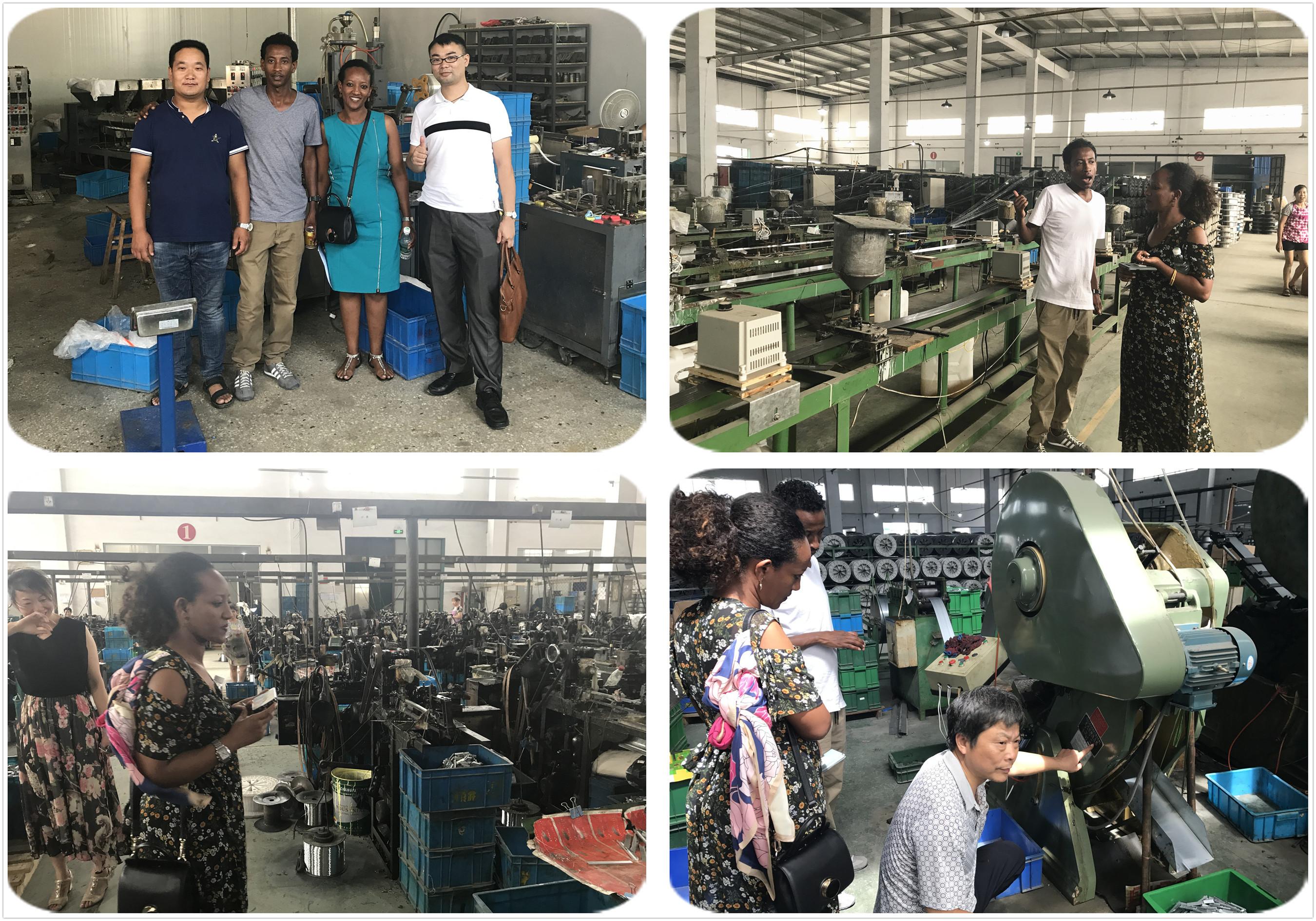 staple production line