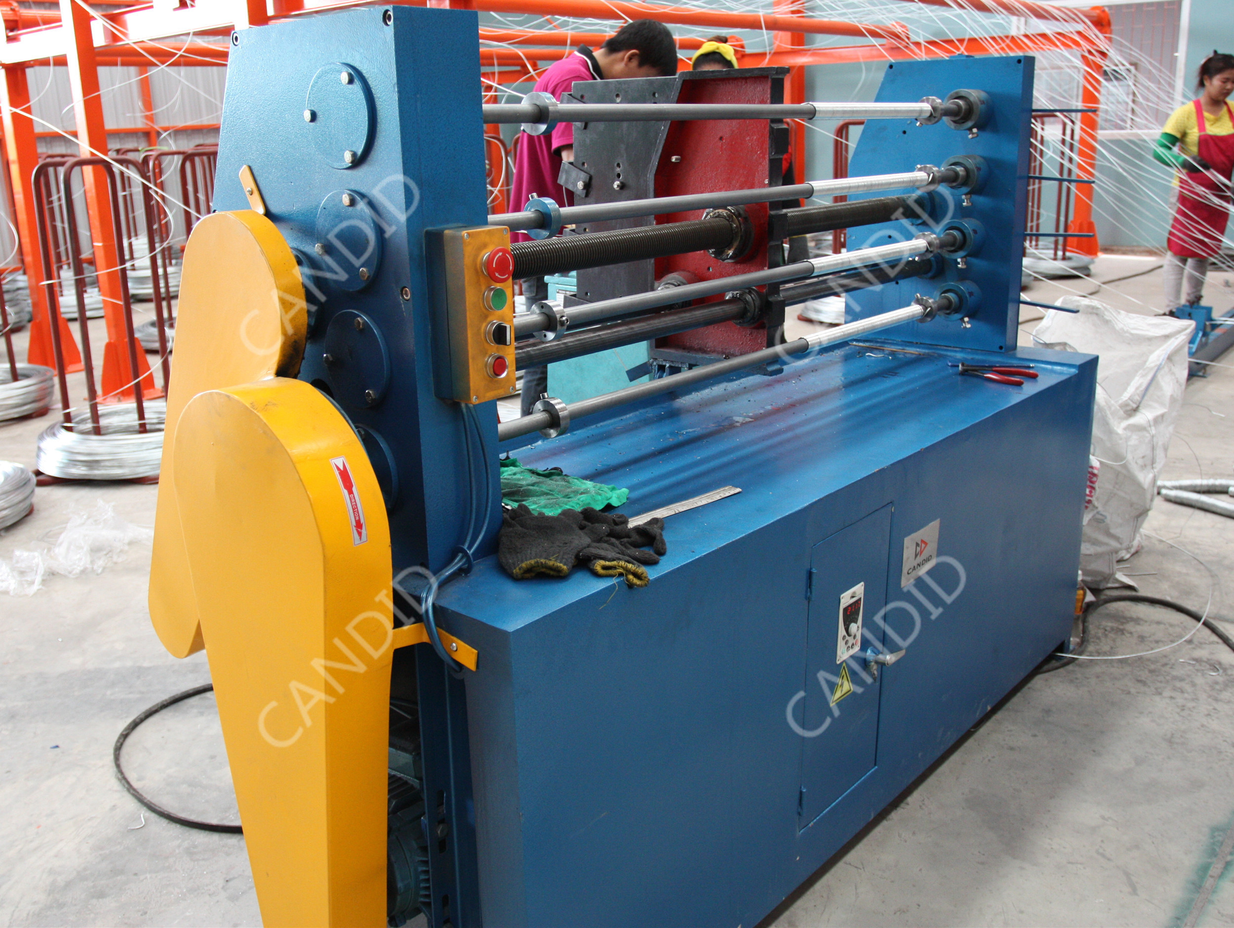 Hexagonal Retaining Wall Wire Netting Machine