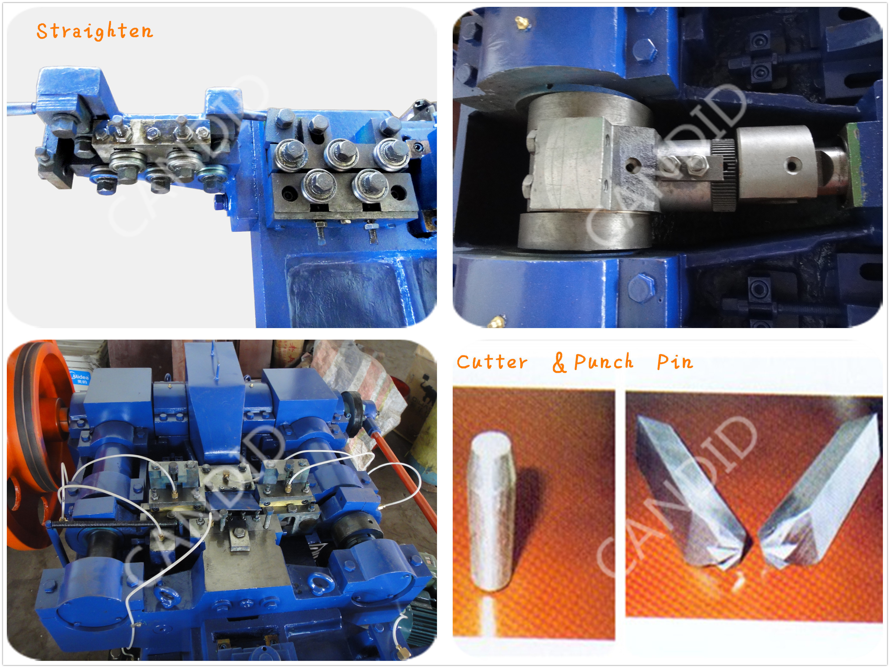 iron wire nail making machine