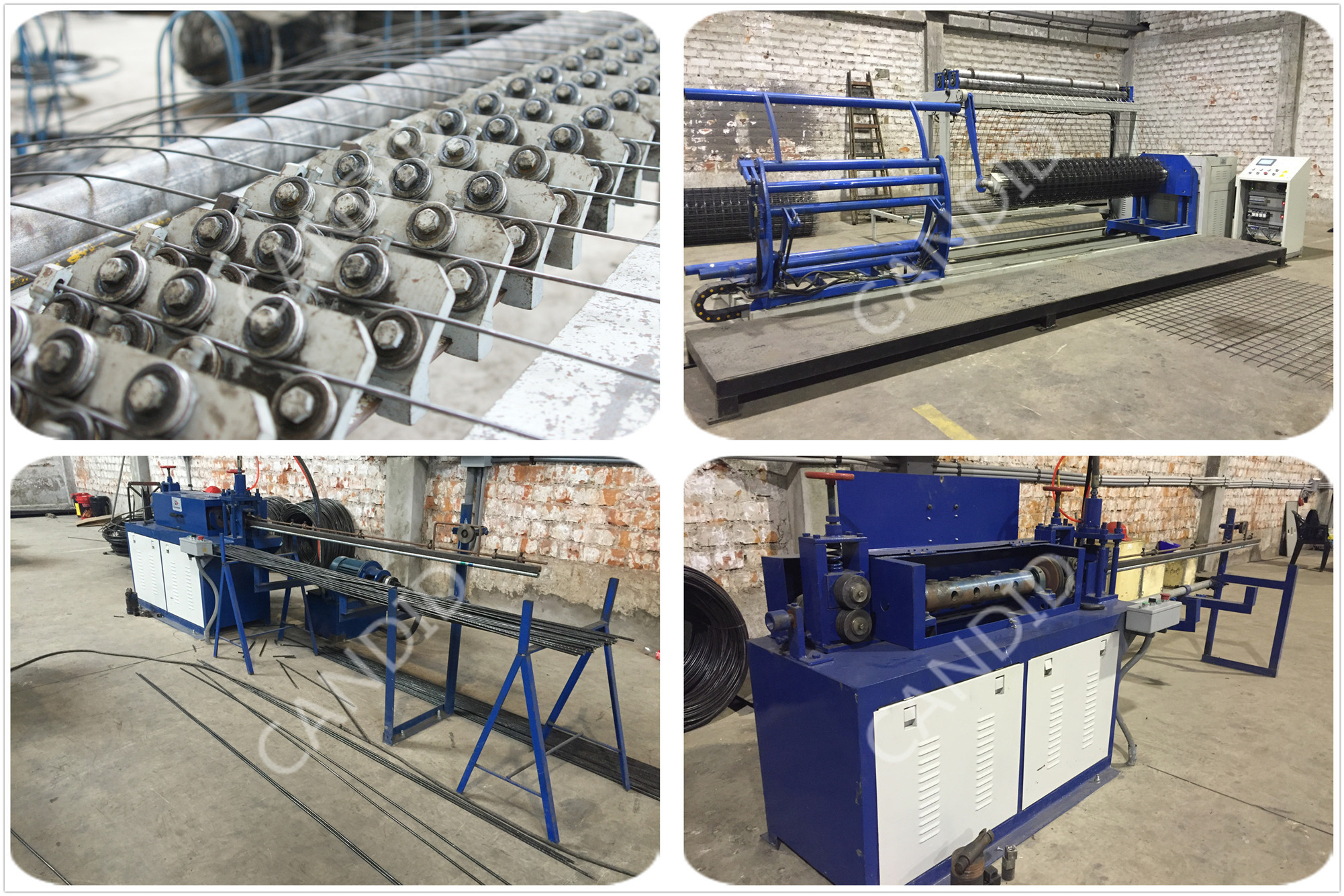 welding wire mesh fence machine
