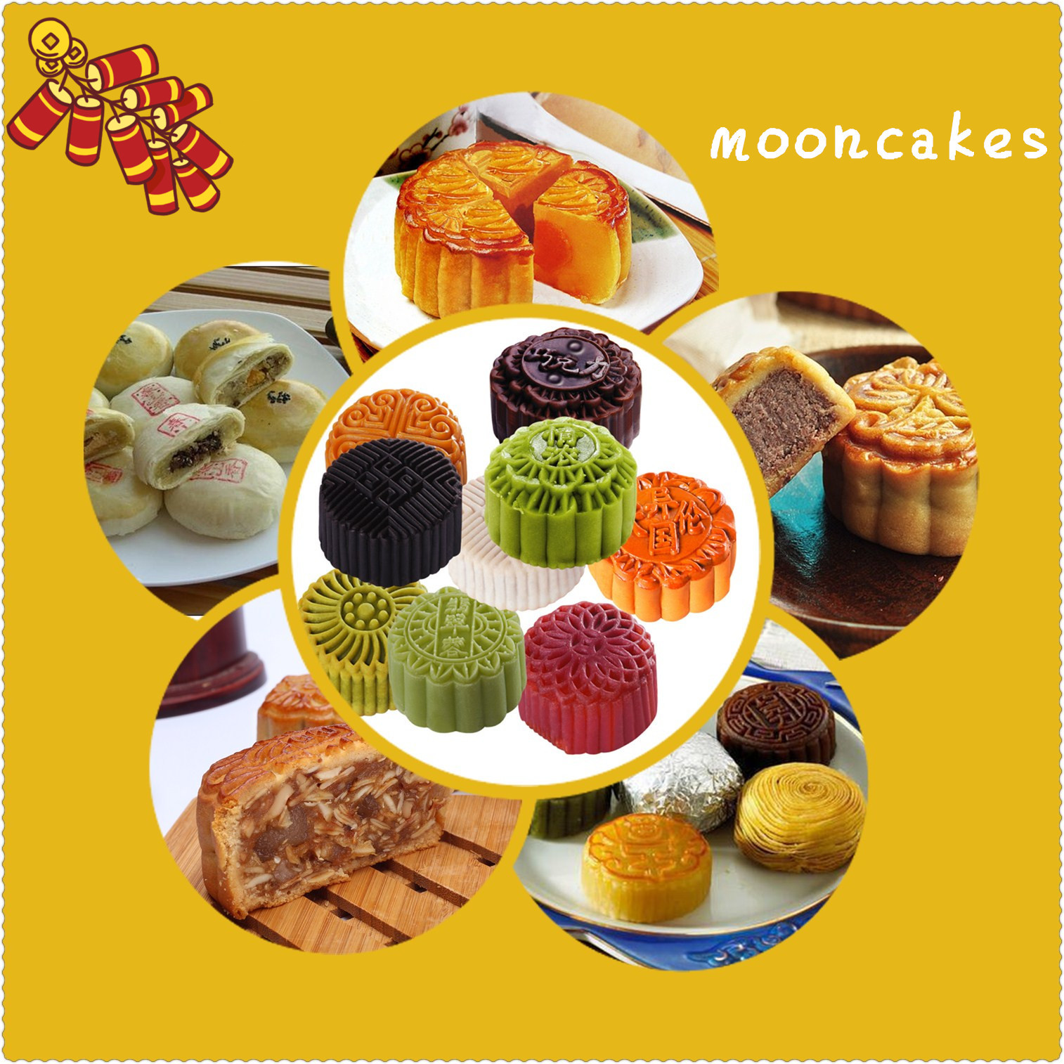 In ancient times, moon cakes were a kind of offering to the moon. Over the centuries, these special cakes have become the most popular food of the Mid-Autumn Festival. The types of moon cakes are becoming more and more diverse. There are five kernels, bean paste, rose, lotus seed paste, sugar, black sesame, ginkgo, dried meat floss, ham ,yolk moon cakes, etc.. So which kind of moon cake is your favorite?