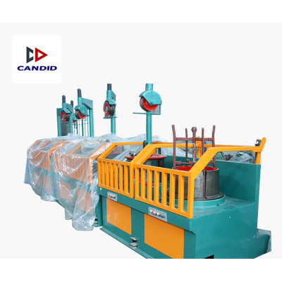 Candid Wheel Type Wire Drawing Machine
