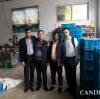 Bangladesh customer visit CANDID eraser machine factory