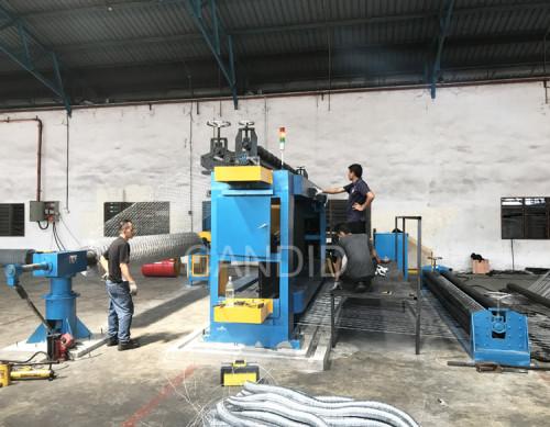 High Efficiency Gabion Box Machine & Gabion Mesh Machine Manufacturer