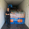 we finished loading container of nail making machine and wire drawing machine for one of our Nigeria customer
