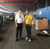 One Nepali team visited our gabion machine workshop today...