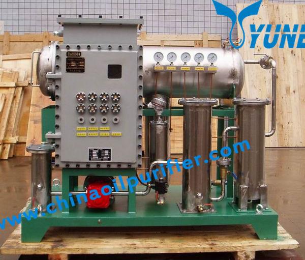 jt отработанное масло переработки машина работает на линии с газовой турбины системы