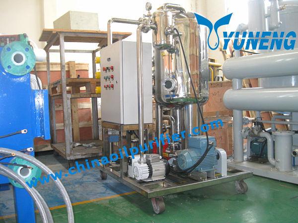 Zjc-t вакуумный тип масла турбины фильтрации машины