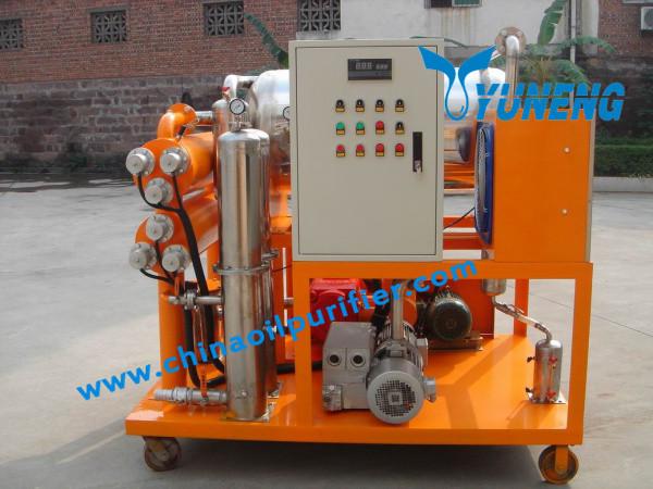 Zjc-t серии турбинного масла системой рециркуляции для улучшения масла в цвете и качестве
