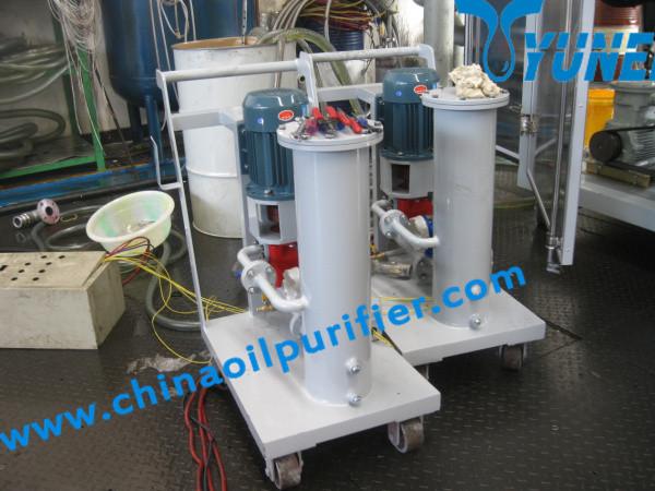 ил переносного типа высокая точность фильтрации масла& масла машина( малый, простой, дешевые)