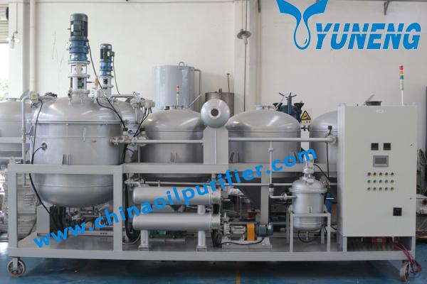 Yuneng Ynzsy1000 3 Ynzsy1000 3 Waste Oil Refinery
