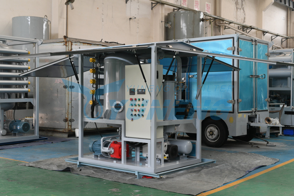 ZJA Series Double Stage Vacuum Transformer Oil Purifier