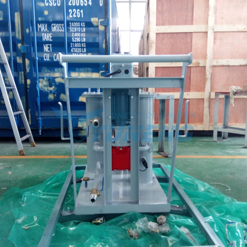 YUNENG Small Precision Oil Filtration Machine with CE
