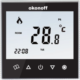 Popular Touch Screen Thermostat (Q8-Y)
