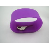 silicone pocket bands/silicone invisible pocket bracelet /silicone wristband with pocket