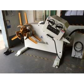 자동 철강 코일 레벨링 uncoiler 기계, 모델: GL-B