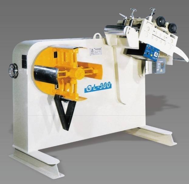 2014 The Hottest and Newest Aluminium Sheet Uncoiler and Straightener Machine with CE In Stock, Model:GL
